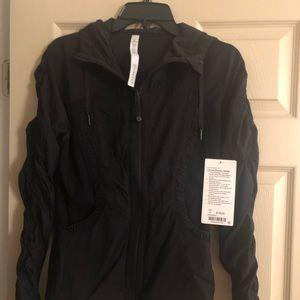 New Lululemon Dance Studio Jacket black size 8